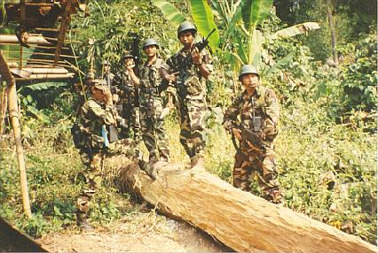 Combattants du Nagaland (Source: Nagalim).