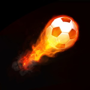 © Neosiam | Dreamstime.com - Hot soccer ball